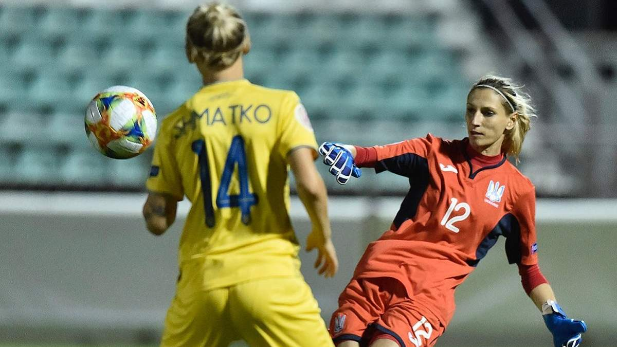 Любов Шматко визнана найкращою футболісткою у матчі Україна – Ірландія