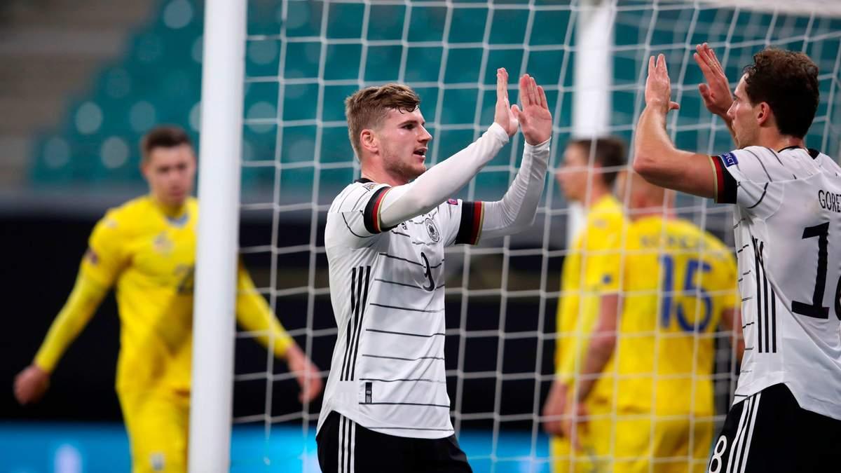Ліга націй – Німеччина – Україна: рахунок і огляд матчу 14.11.2020