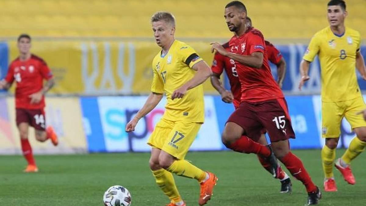 Швейцария – Украина: судьбу матча может решить жребий, УАФ готовит апелляцию - Сборная