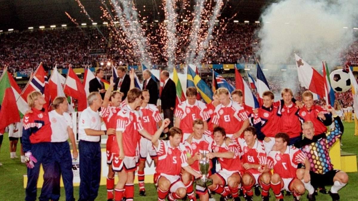 На Евро-1992 сборная Дании была далеко не фаворитом