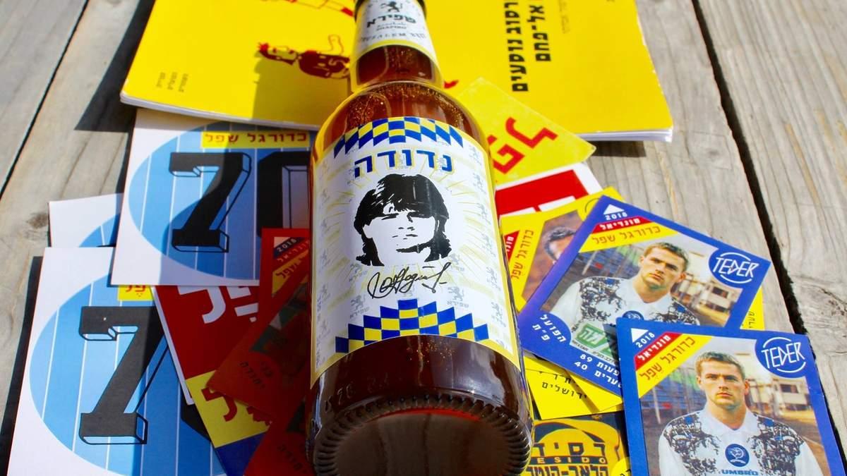 Пиво с изображением Олега Надуды
