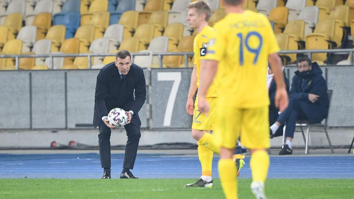 Андрій Шевченко в поєдинку з Казахстаном