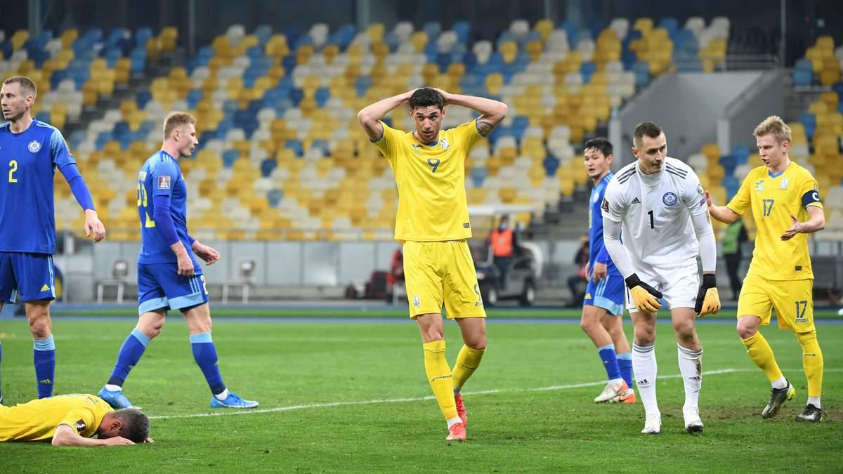 Каждый должен задуматься и немного опуститься на землю, – Яремчук об игре с Казахстаном