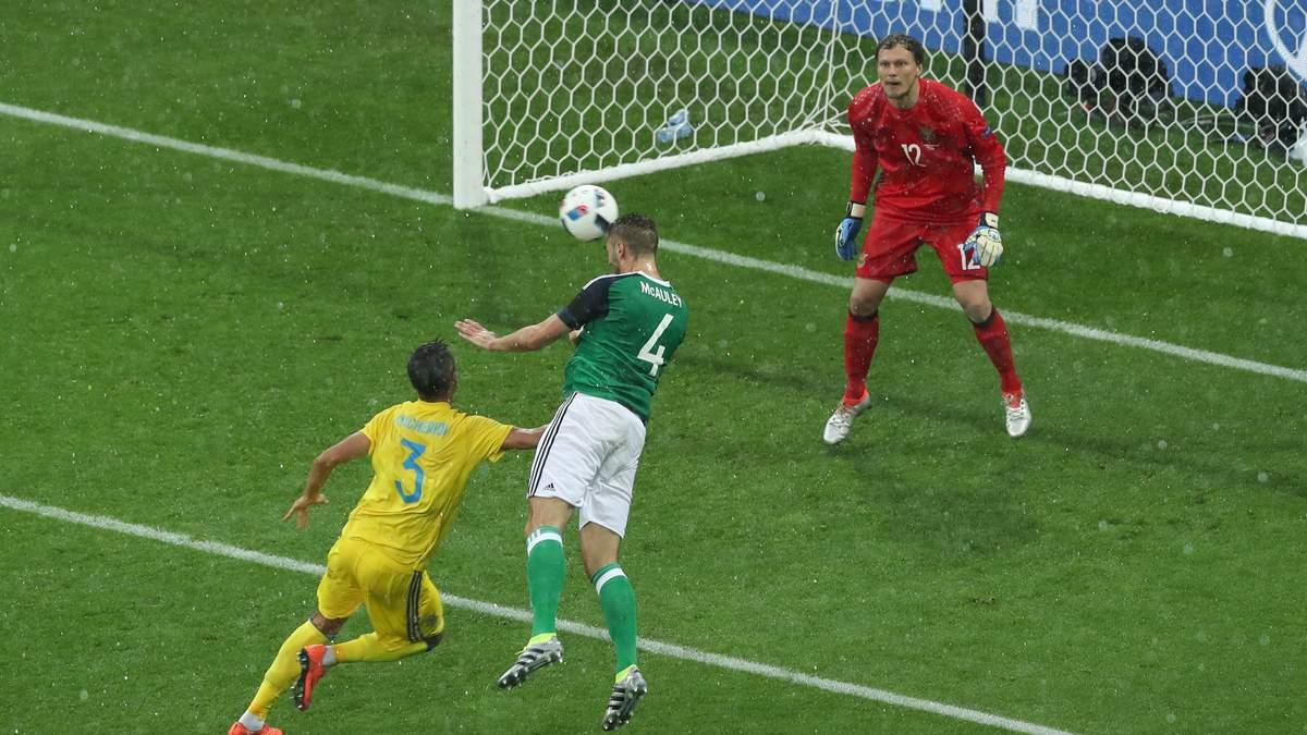 Україна-Північна Ірландія на Євро-2016