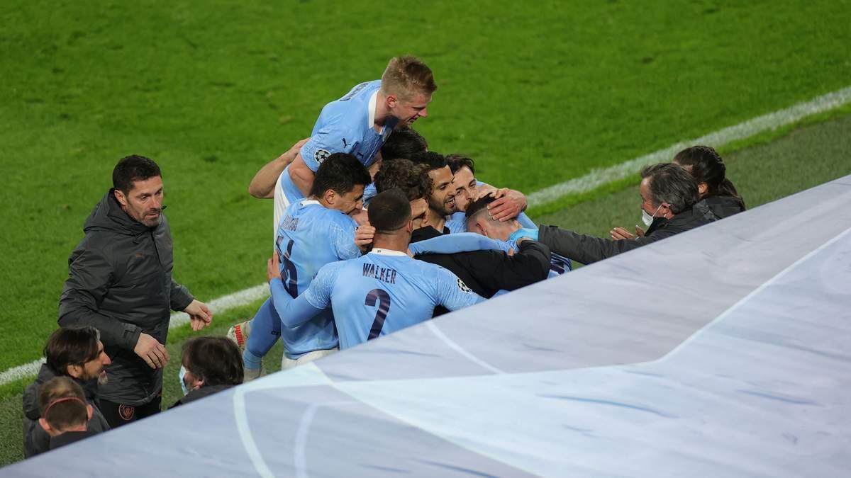 Манчестер Сити побеждает Боруссию – Зинченко в полуфинале ЛЧ!