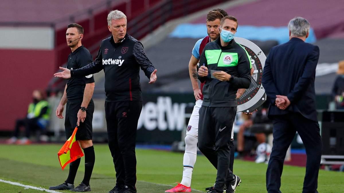 Вест Хем поступився Евертону: Ярмоленко повернувся після тривалої паузи
