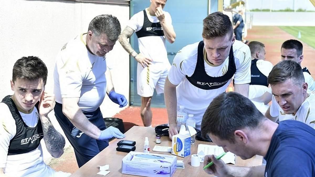 Без рукостискань та з особливими умовами: як живе збірна під час підготовки до Євро-2020