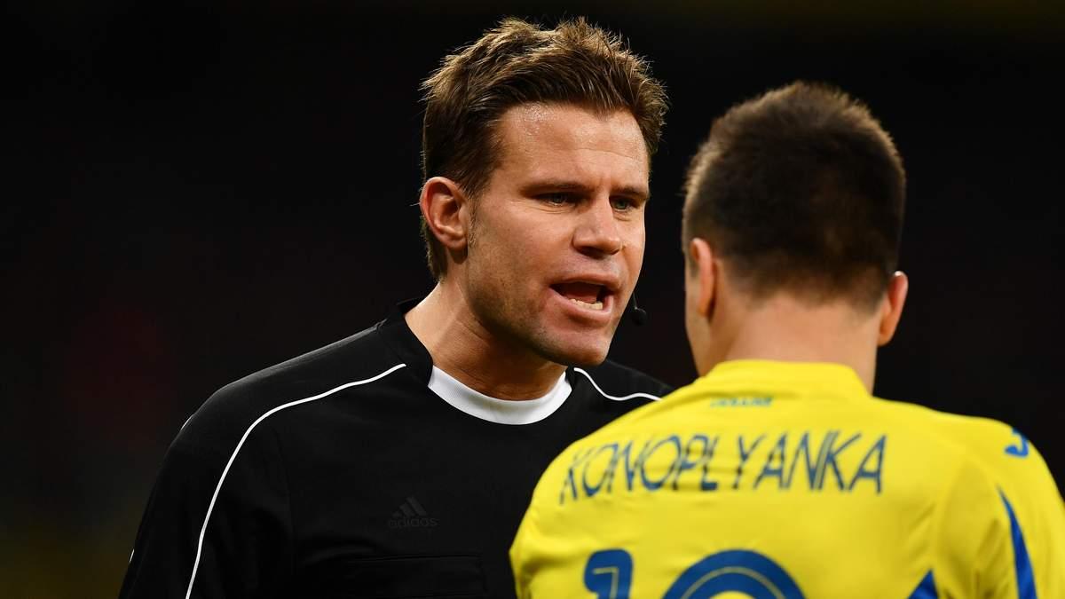 На стартовому матчі України на  Євро-2020 працюватиме німецький рефері: він судив фінал ЛЧ