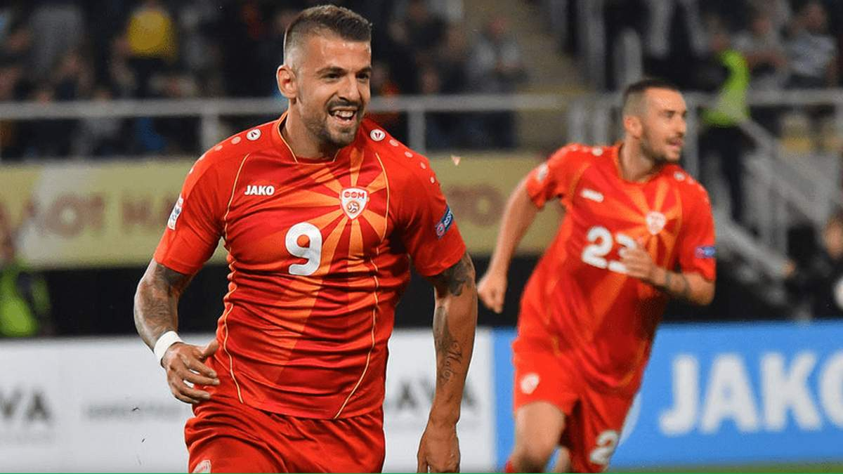 Если победим – можем выйти из группы: Трайковски угрожает сборной Украины