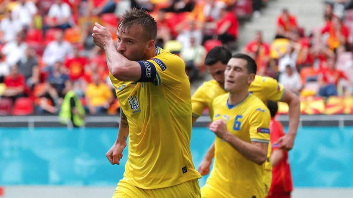 Ярмоленко обігнав Шевченка за результативністю і наблизився до його гольового рекорду