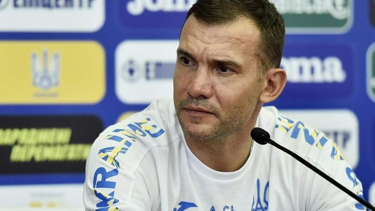 Шевченко назвав фактор, який потрібен для конкуренції з топовими збірними