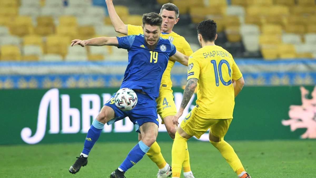 Стало известно место проведения следующего матча сборной Украины