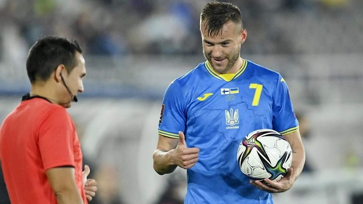 Україна не награла на перемогу, –Ярмоленко розчарований черговою нічиєю збірної і шансами на ЧС - Збірна