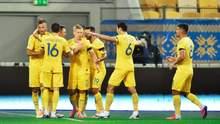 В сборную Украины вызвали 32 футболистов: имена