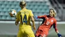 Лучший игрок матча против Ирландии – она присоединилась к важной победе Украини