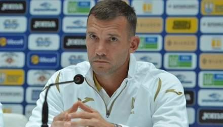 У нас була достатня кількість гравців, щоб провести матч проти Швейцарії, – Андрій Шевченко