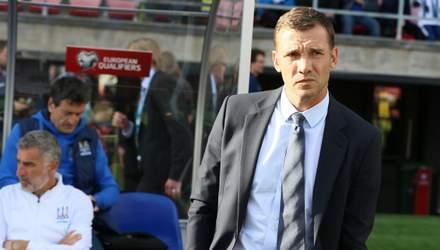 Шевченко відреагував на скандальне рішення УЄФА про технічну поразку збірної