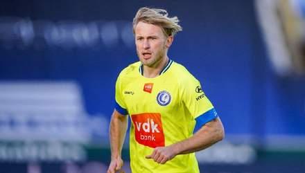 Вслід за Шведом: українець Безус забив перший гол за Гент в сезоні