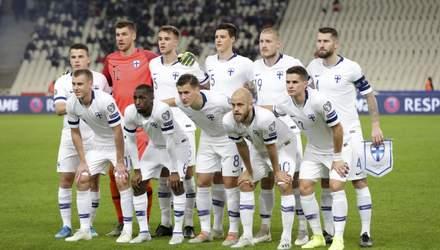 Збірна Фінляндії оголосила склад на матч з Україною