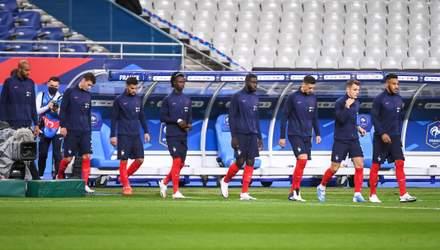 Сборная Франции обнародовала список игроков – Дешам вызвал 26 футболистов