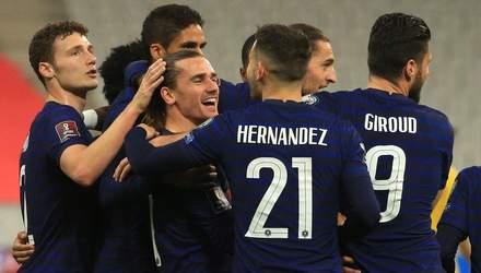 Відбір на ЧС-2022: результати матчів та відео голів 28 березня