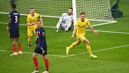 У таких іграх без удачі складно, – один з героїв матчу проти Франції