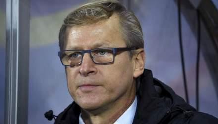 Украина – Финляндия: тренер гостей отметил прогресс команды Шевченко