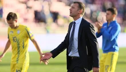 Шевченко назвав заявку на матч з Фінляндією: Україна не експериментуватиме
