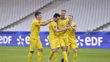 Украина – Финляндия: объявлены стартовые составы на матч