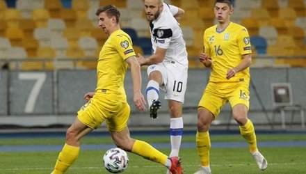 Украина шокирующее упустила победу над Финляндией: дебютный гол Мораеса и роковая ошибка