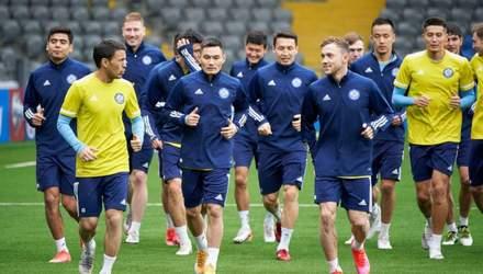 У збірній Казахстану перед матчем з Україною спалах COVID-19