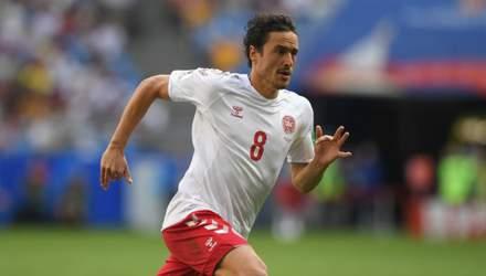 Диво-гол: зірка збірної Данії відзначився шедевром на тренуванні