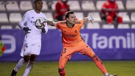 Лунін потрапив у список гравців Реала на матч проти Ліверпуля