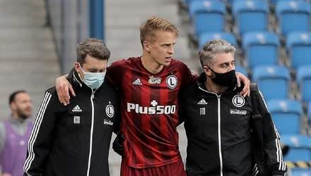 Шабанов получил тяжелую травму: футболист стоически отреагировал на диагноз