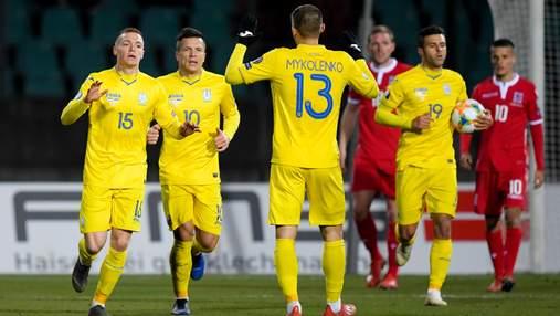 Евро-2020: расписание матчей сборной Украины на чемпионате Европы по футболу