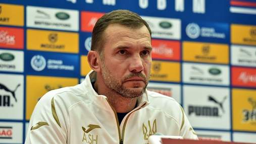 Шевченко прокомментировал разгромное поражение сборной Украины в матче против Испании