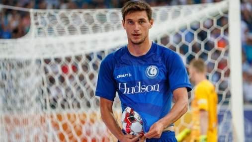 Футболист сборной Украины Яремчук признан лучшим игроком чемпионата Бельгии в октябре