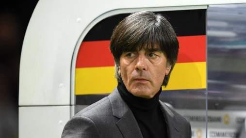 Матч проти України стане вирішальним у Лізі націй, – наставник Німеччини Льов