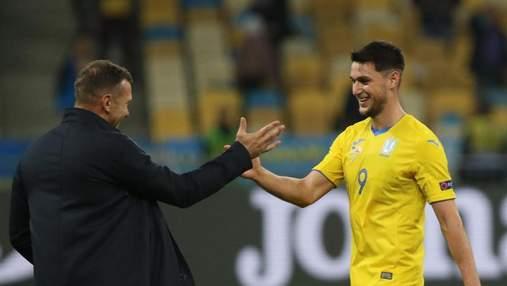 Как Яремчук забил гол в ворота сборной Германии: видео