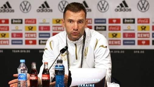 Не хватило реализации: Шевченко раскрыл причины поражения сборной Украины от Германии