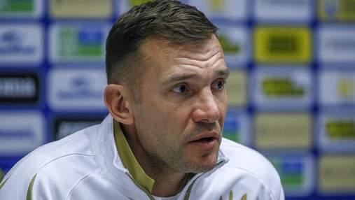 Пресс-конференция Шевченко перед матчем со Швейцарией не состоялась