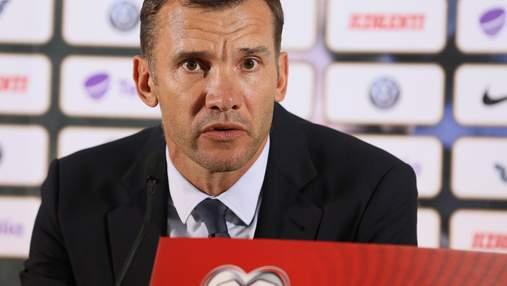 Шевченко хочет сыграть скандальный матч против Швейцарии