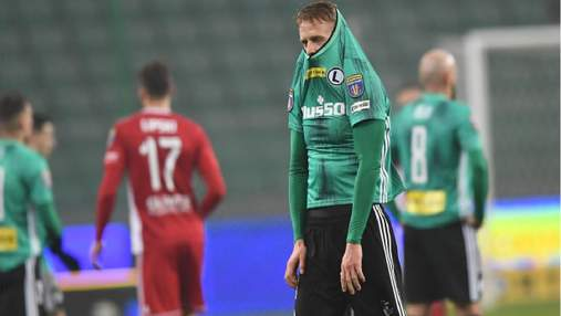 Легия вылетела из Кубка: Русин дебютировал, Шабанов провалил матч: видео