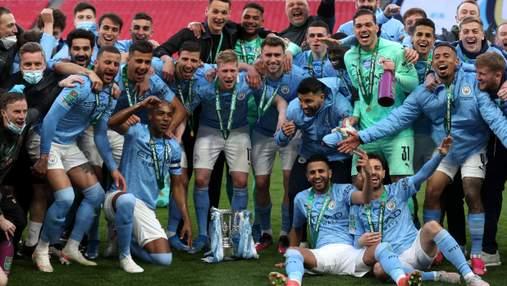 Зинченко завоевал первый трофей в сезоне – в финале Манчестер Сити справился без украинца