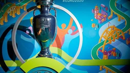 Євро-2020: кубок турніру дивом уцілів після інциденту в Румунії: відео