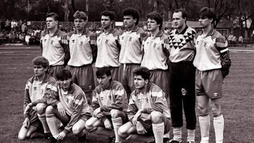 Дата дня: 29 років тому збірна України провела прем'єрний матч в історії – раритетні фото