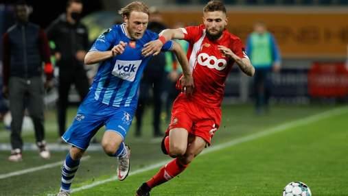 Безус голом і асистом виводить Гент у єврокубки – Яремчук залишає поле через травму