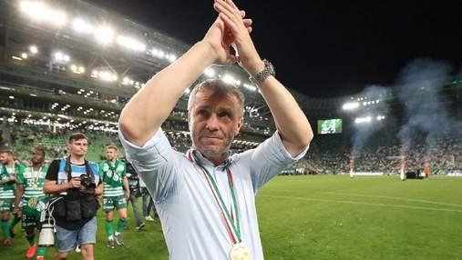 Ребров попрощався з Ференцварошем –три чемпіонства поспіль не врятували ситуацію
