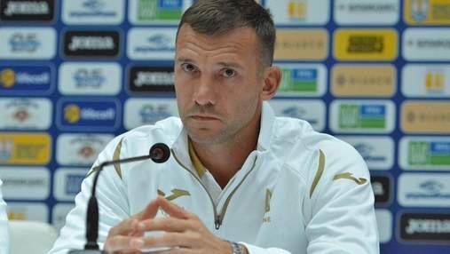 Шевченко озвучив план на матч проти Північної Македонії