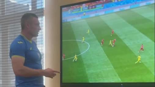 Украина – Северная Македония: Кличко просмотр футбола соединил с работой – видео